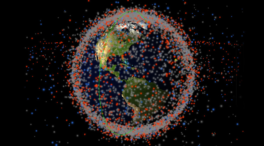 Real-time map of every object in Earth's orbit shows shocking amount of debris