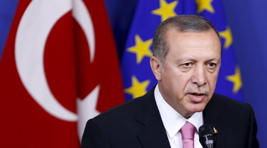 Erdogan accuses EU of harboring terror groups, urges bloc to fix own laws