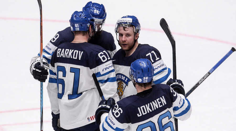 Finland records 4th win in Hockey World Championships Day 6