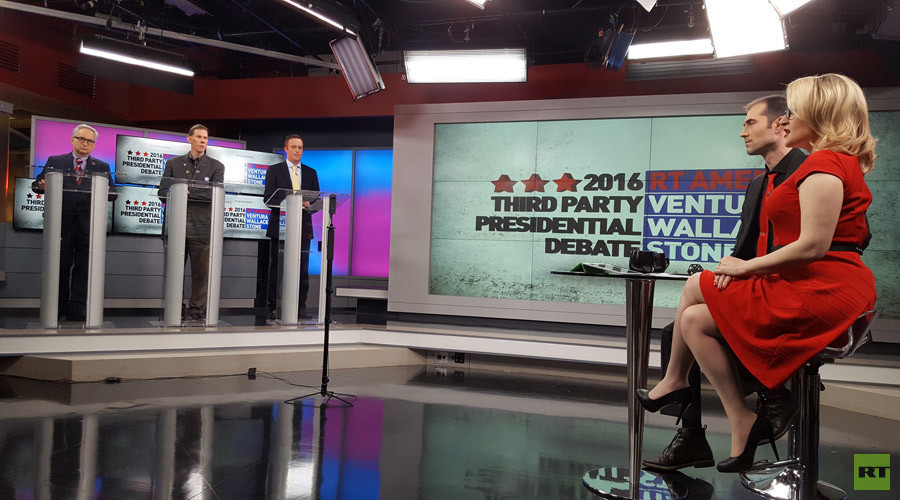 The other guys: Meet third-party US candidates for president