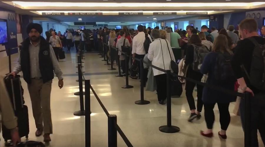 'Are you f**king kidding me?': YouTube video showcases ludicrously long TSA line