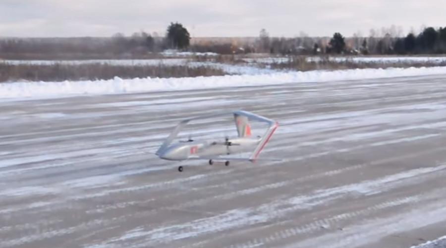 Flight model of Russia's heavy duty transformer drone undergoes trials (VIDEO)