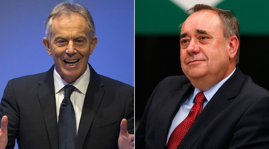 'Crime of aggression': Alex Salmond's quest to put Tony Blair on trial over Iraq hits legal snag