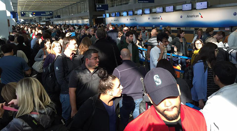 TSA Hell: Passengers in Chicago miss flights due to lines at security checkpoints