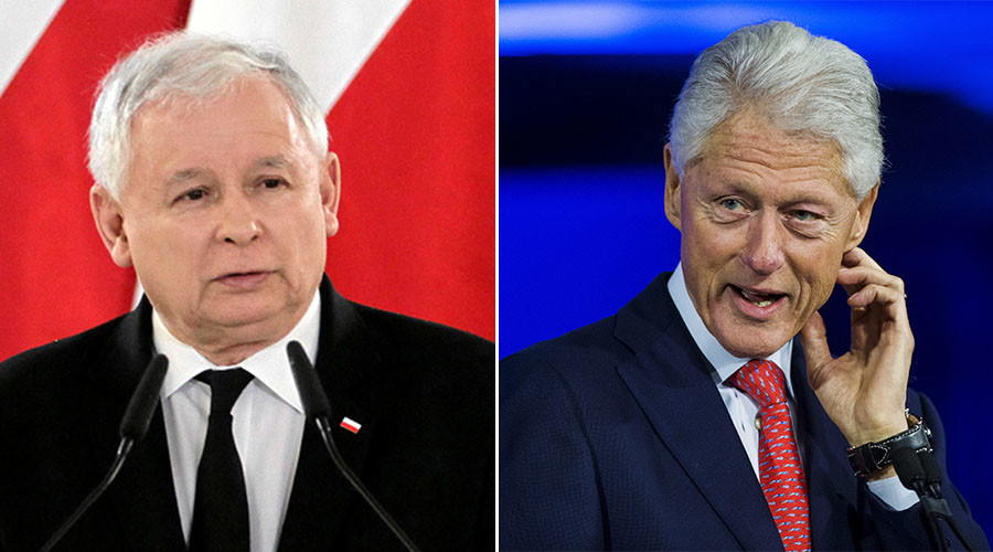 Bill Clinton angers Poland & Hungary by saying 'US-freed' countries 'want Putin-like dictatorships'