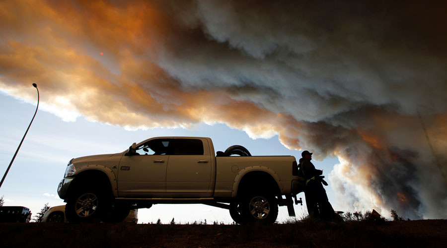 Canada loses quarter of crude output as result of wildfires