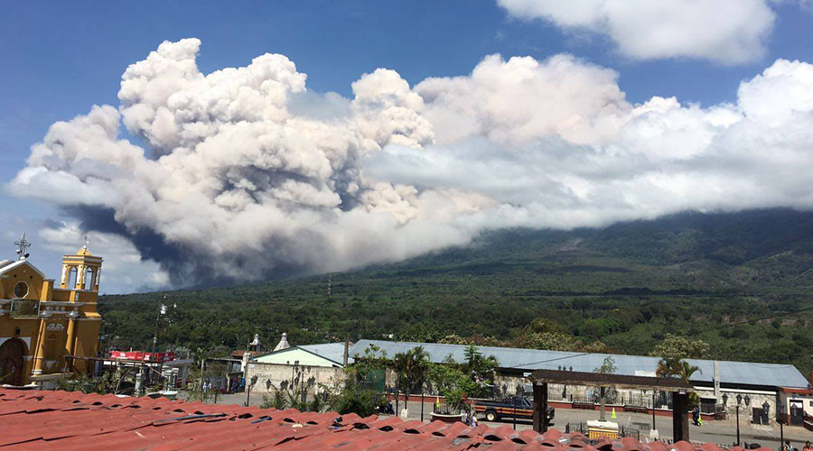 'Volcano of Fire' erupts in Guatemala, prompting evacuations (PHOTOS)