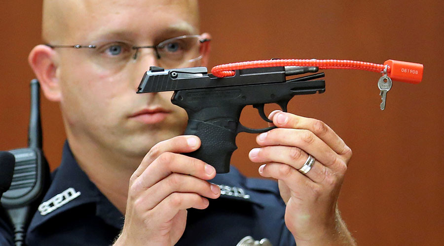 George Zimmerman sells gun used to kill Trayvon Martin for nearly $140,000