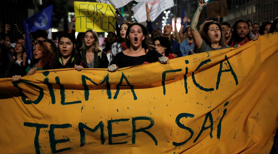 Assault on democracy in Brazil must not succeed