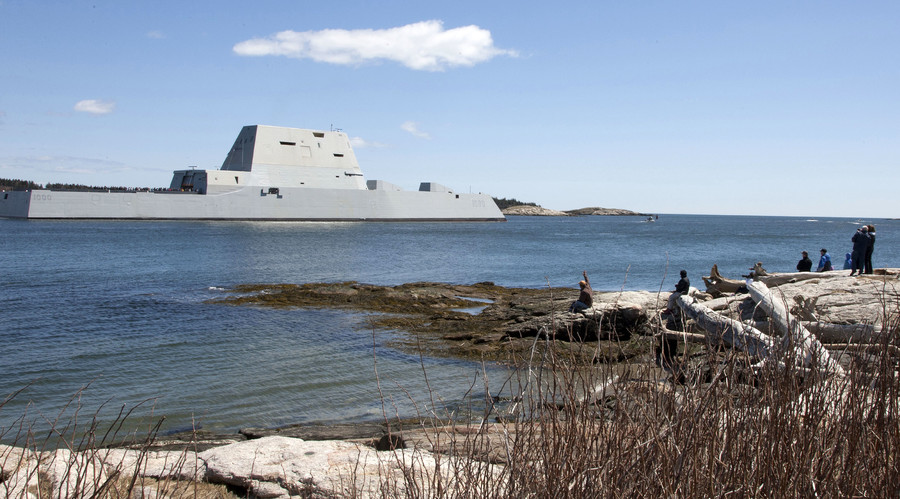 US Navy test fires futuristic railgun (VIDEO)