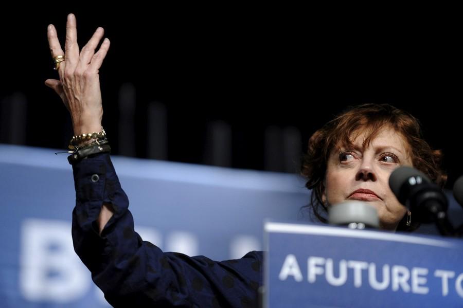 Susan Sarandon on Hillary vs. Bernie, Obama & smoking pot with Snoop