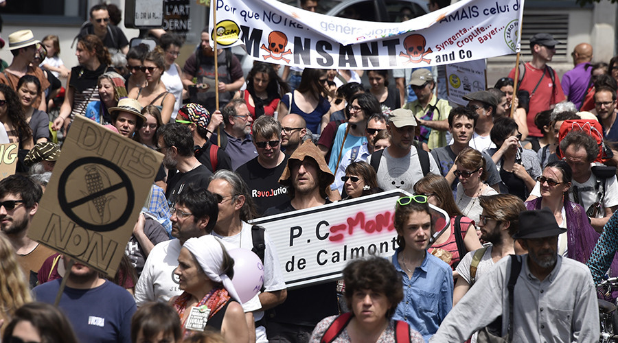 March against Monsanto: Global protests