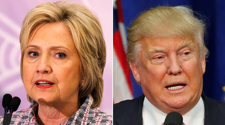 New poll shows Trump beating Clinton in general election