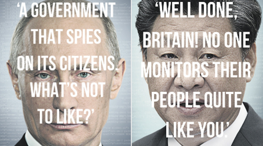 Don't Spy On Us: British surveillance campaign ignores BND and NSA and resorts to orientalism