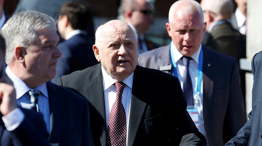 Gorbachev officially barred from Ukraine over Crimea comments