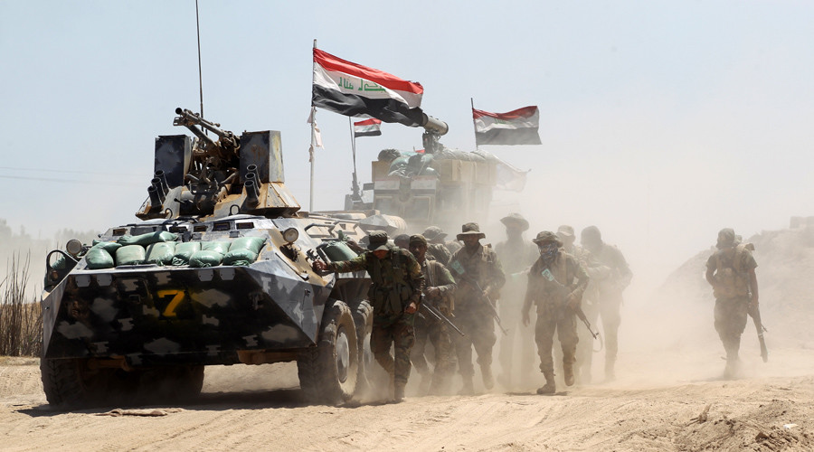 Iraqi forces slice through ISIS fortifications on all fronts around Fallujah (VIDEO)