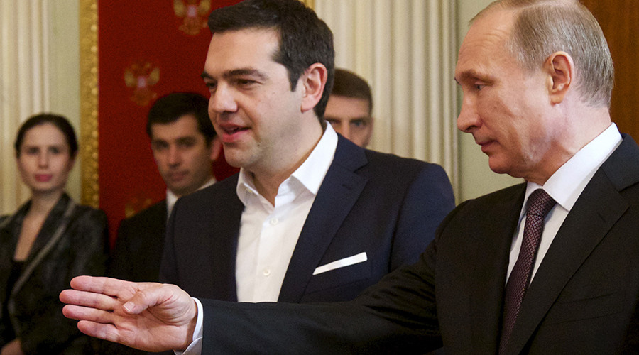 Putin visits Greece ahead of Russia sanctions vote