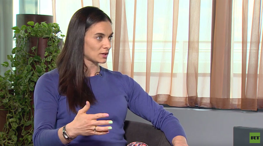 'Russia is attacked while they turn a blind eye to other countries' - Isinbayeva on Rio ban threat