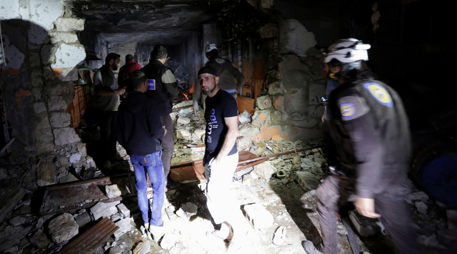 US 'working closely' with Russia to find those responsible for Idlib airstrike