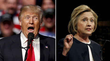 Trump edges out Clinton in new presidential poll