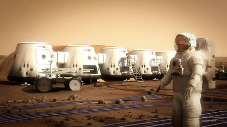 © Mars One - Human Settlement of Mars