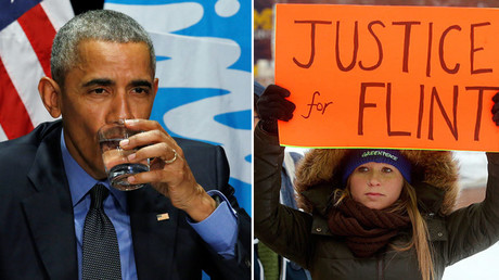 Obama begins his visit to Flint today ©