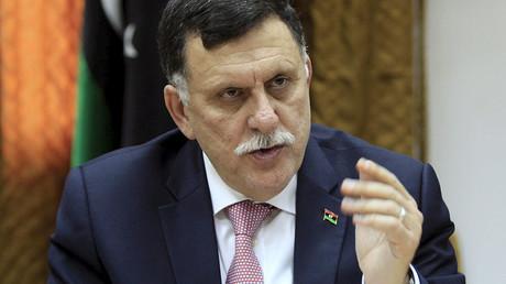 Fayez al-Sarraj, Libyan prime minister. ©Ismail Zitouny