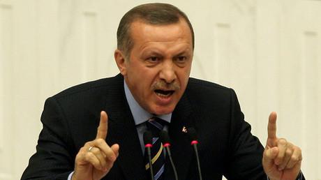 Turkey's President Tayyip Erdogan © Adem Altan