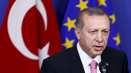 Erdogan accuses EU of harboring terror groups, urges bloc to fix own laws