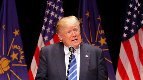 U.S. Republican presidential candidate Donald Trump. ©Aaron P. Bernstein
