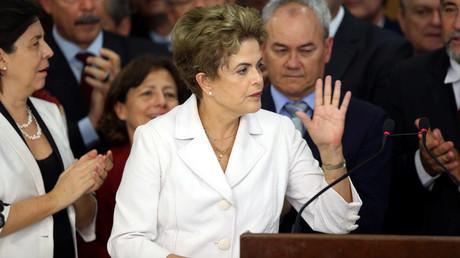 Suspended Brazilian President Dilma Rousseff © Adriano Machado