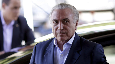 Brazil's acting president used to be US intel informant - WikiLeaks