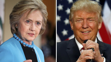 A combination photo shows U.S. Democratic presidential candidate Hillary Clinton and Republican U.S. presidential candidate Donald Trump © Lucy Nicholson and Jim Urquhart