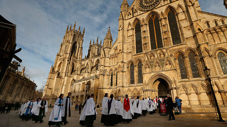 Church of England, in York, northern England © Phil Noble