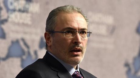 Russian exile, Mikhail Khodorkovsky © Toby Melville