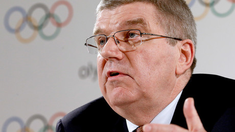 International Olympic Committee (IOC) President Thomas Bach © Stringer