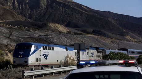 Amtrak train was traveling at 80 mph in 30 mph zone