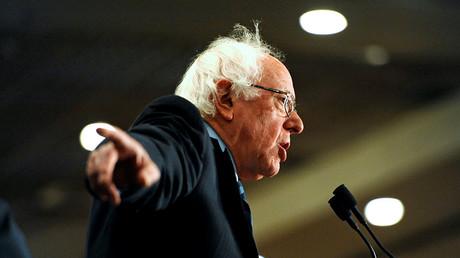 Democratic presidential candidate Bernie Sanders. ©Dan Koeck