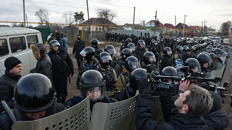 First approval for Putin's National Guard bill, despite Communist opposition
