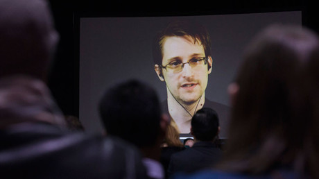Former U.S. National Security Agency contractor Edward Snowden © Mark Blinch