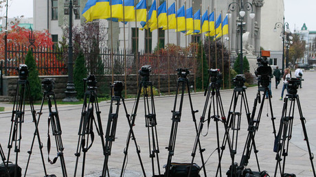 EU presses Kiev over fresh leak of journalists' data by Ukrainian witch-hunt website