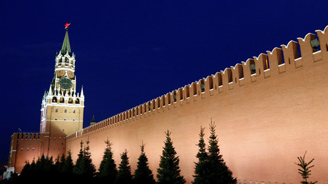 Spasskaya Tower and the Kremlin wall © Sergei Karpukhin