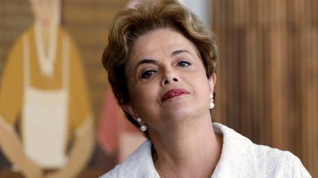 Suspended Brazilian President Dilma Rousseff  © Ueslei Marcelino