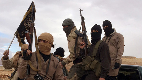 Al Qaeda-linked Nusra Front fighters. © Reuters