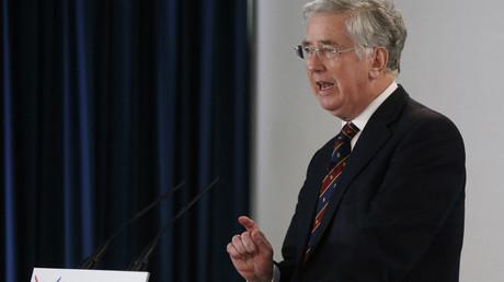 Britain's Defence Secretary Michael Fallon © Russell Cheyne