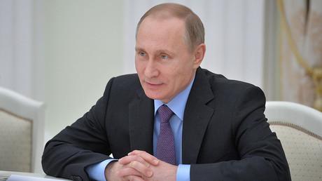 Russian President Vladimir Putin © Alexei Druzhinin