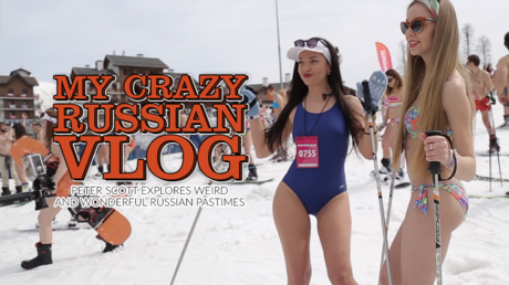 My crazy Russian vlog