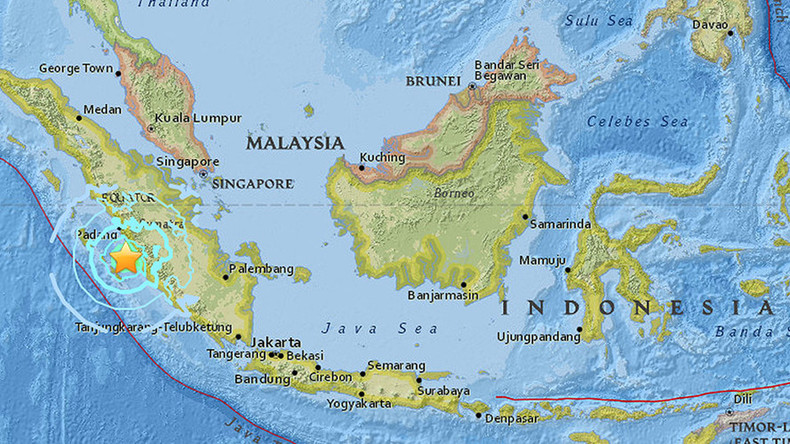 6.5 quake strikes Indonesia off Sumatra coast, tremors felt in Singapore