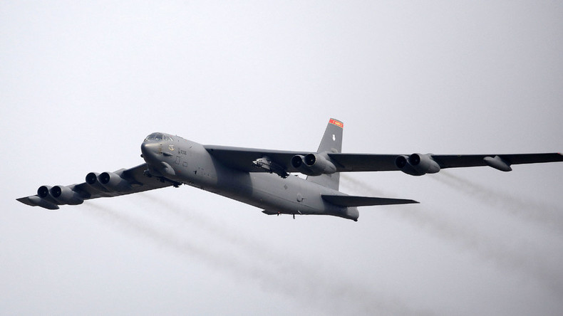 3 US B-52 heavy bombers fly to Europe for joint NATO Baltic military drills