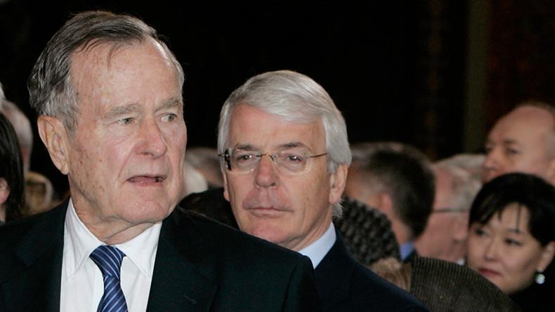 'I sent you a love letter': British PM Major & Bush Sr shared affectionate 'special relationship'